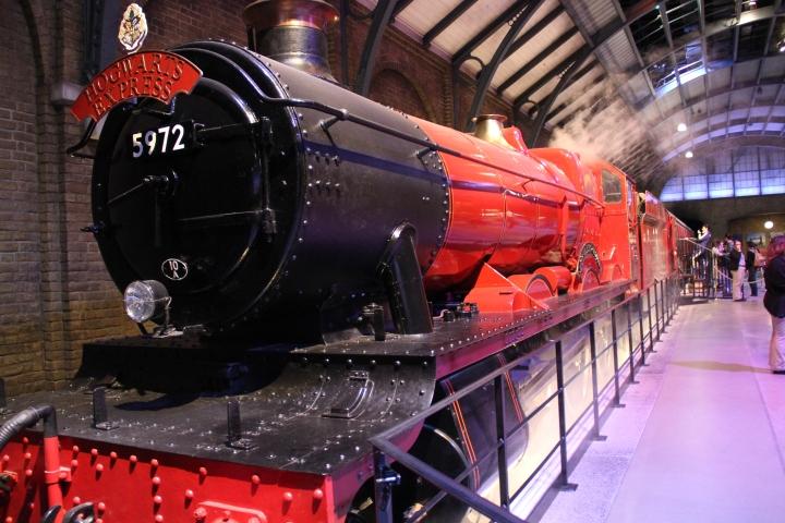 ハリー・ポッターで映画に使われた、列車