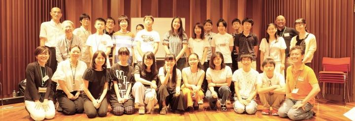 「近未来ハイスクール、高校生がヤマハについて考えた」の参加者