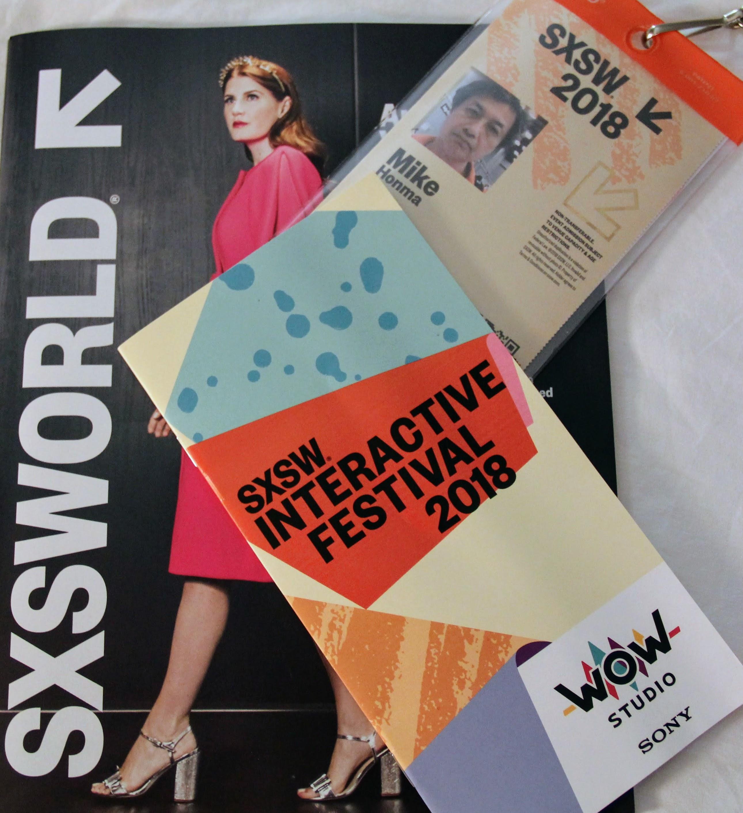 SXSW 2018 チケットパスなど